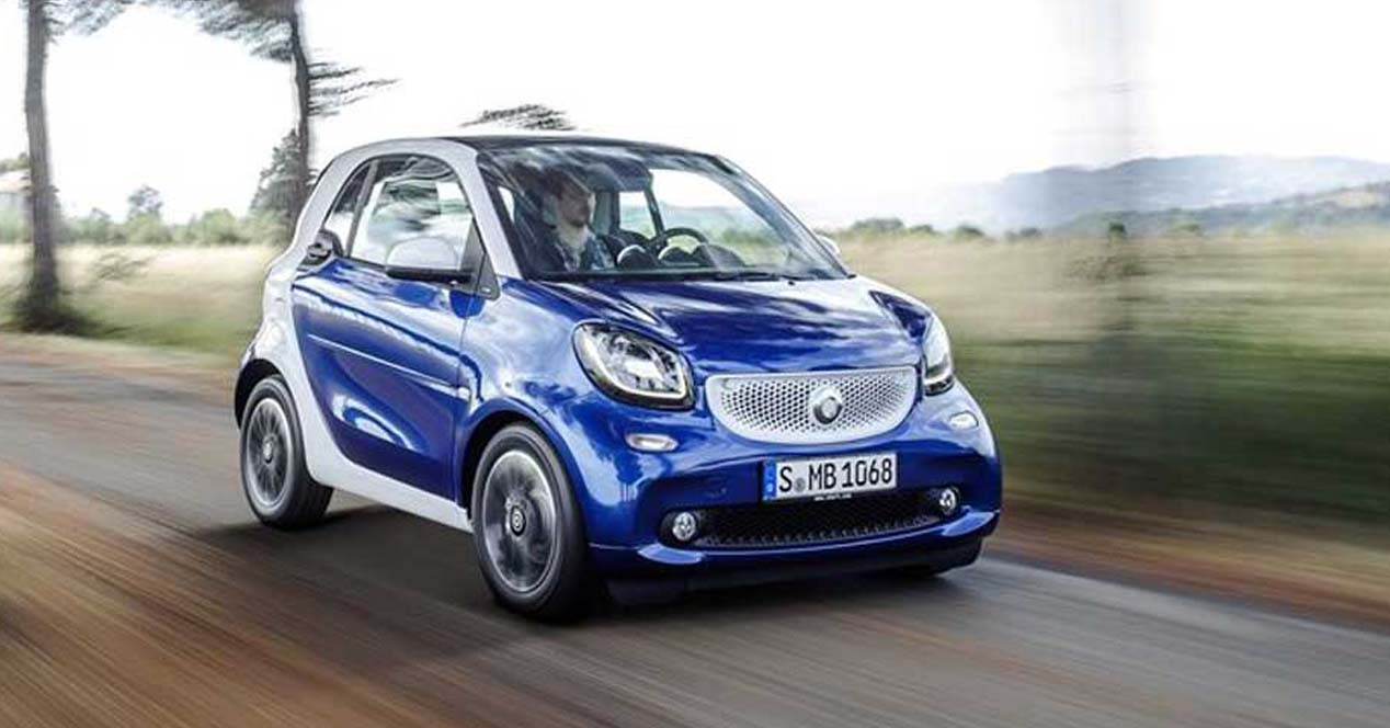 smart fortwo electrico
