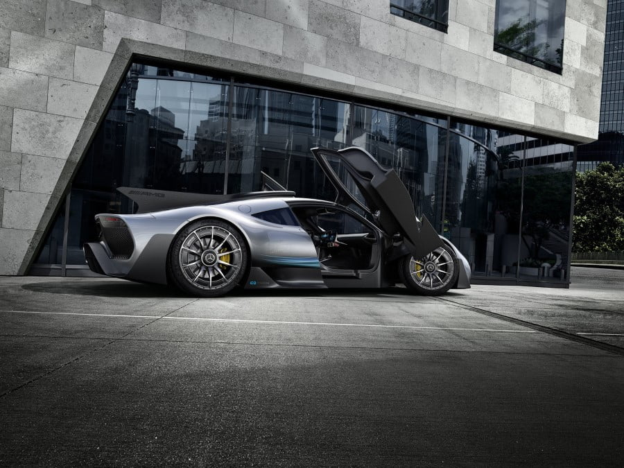 mercedes-amg project one (