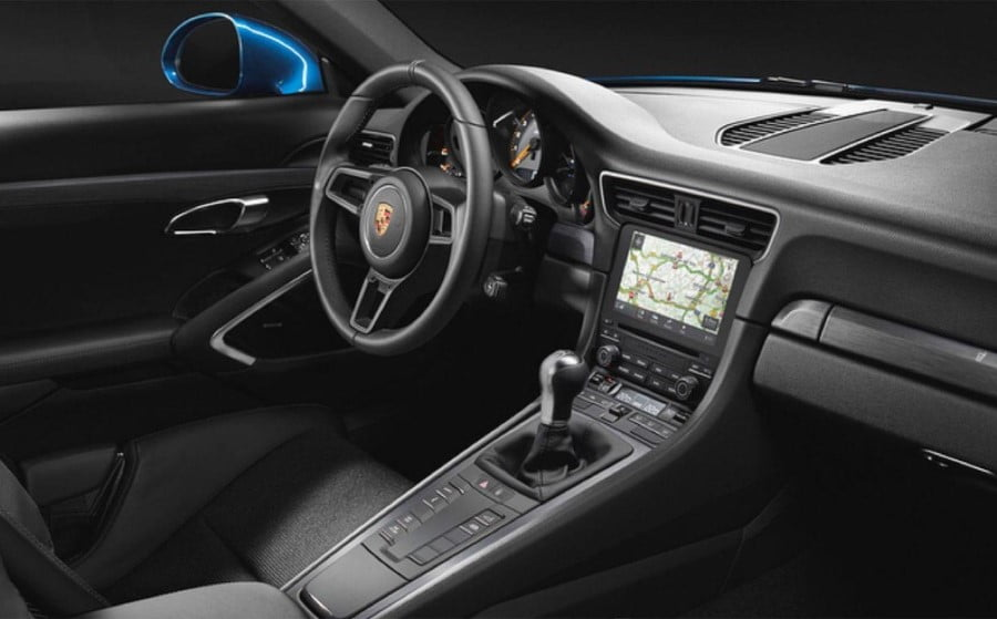 porsche 911 gt3 touring package interior