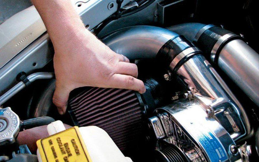 filtro aire admision coche