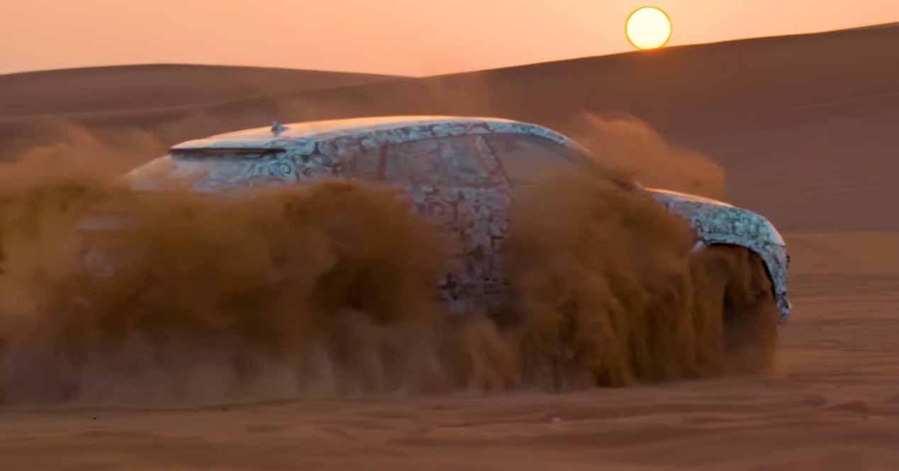 lamborghini urus modo sabbia