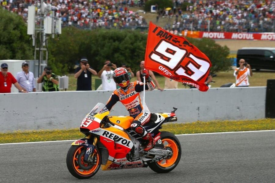 marc marquez bandera 93