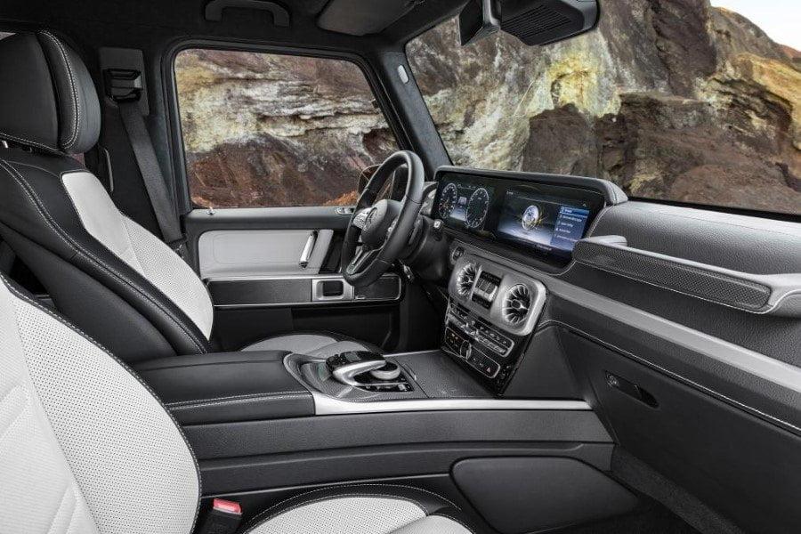 interior mercedes clase g 2018 (1)