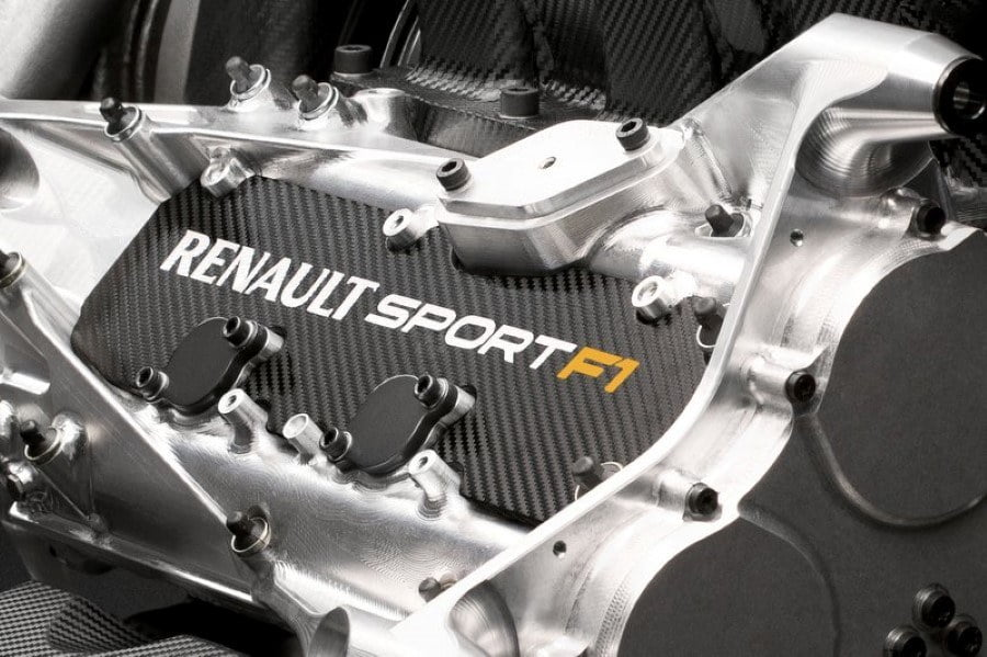 motor renault formula 1