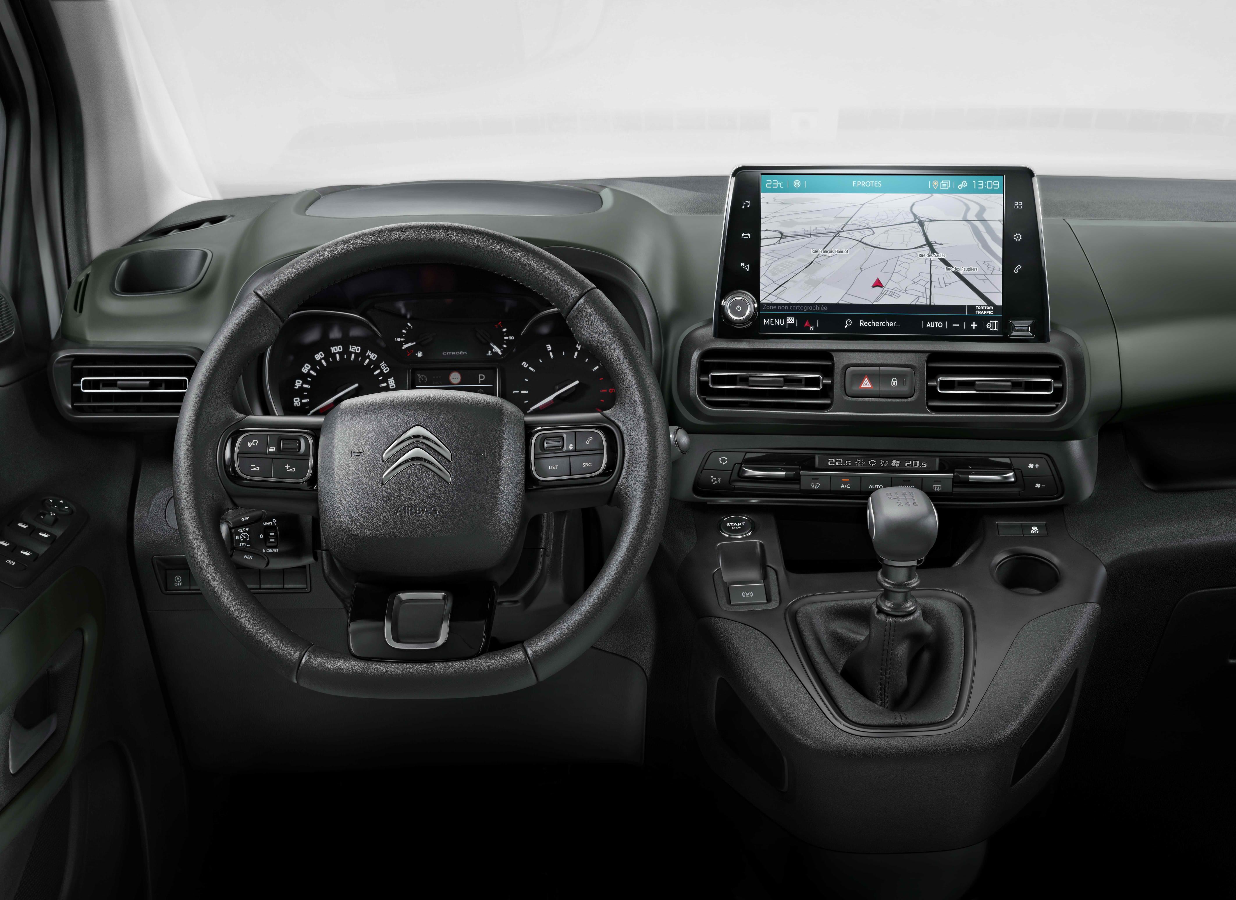 Interior Citroen Berlingo 2018
