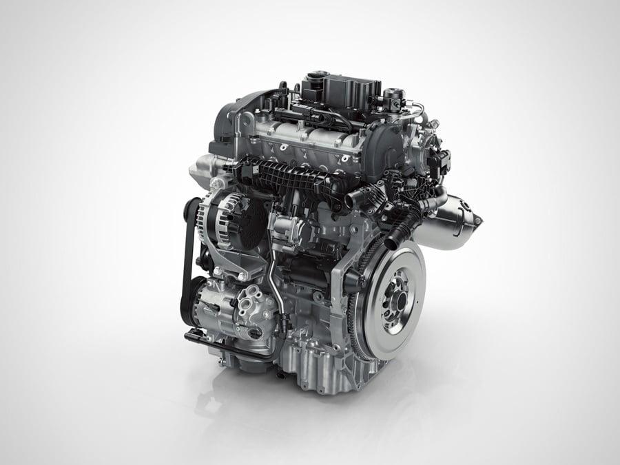 Motor 3 cilindros XC40