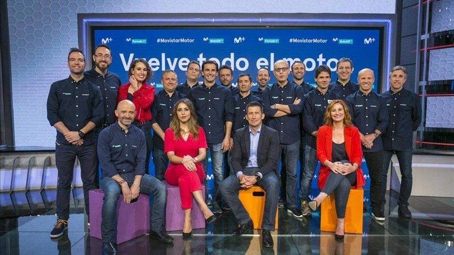 Equipo Movistrar+ 2018