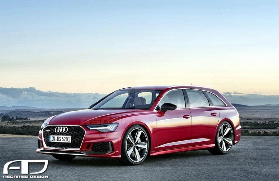 Audi RS6 2020 - Render
