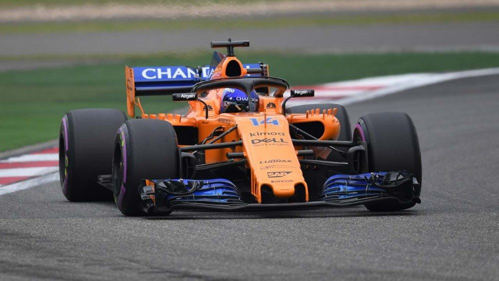 www.sutton-images.comFernando Alonso (ESP) McLaren MCL33 at Formula One World Championship, Rd3, Chinese Grand Prix, Qualifying, Shanghai, China, Saturday 14 April 2018.