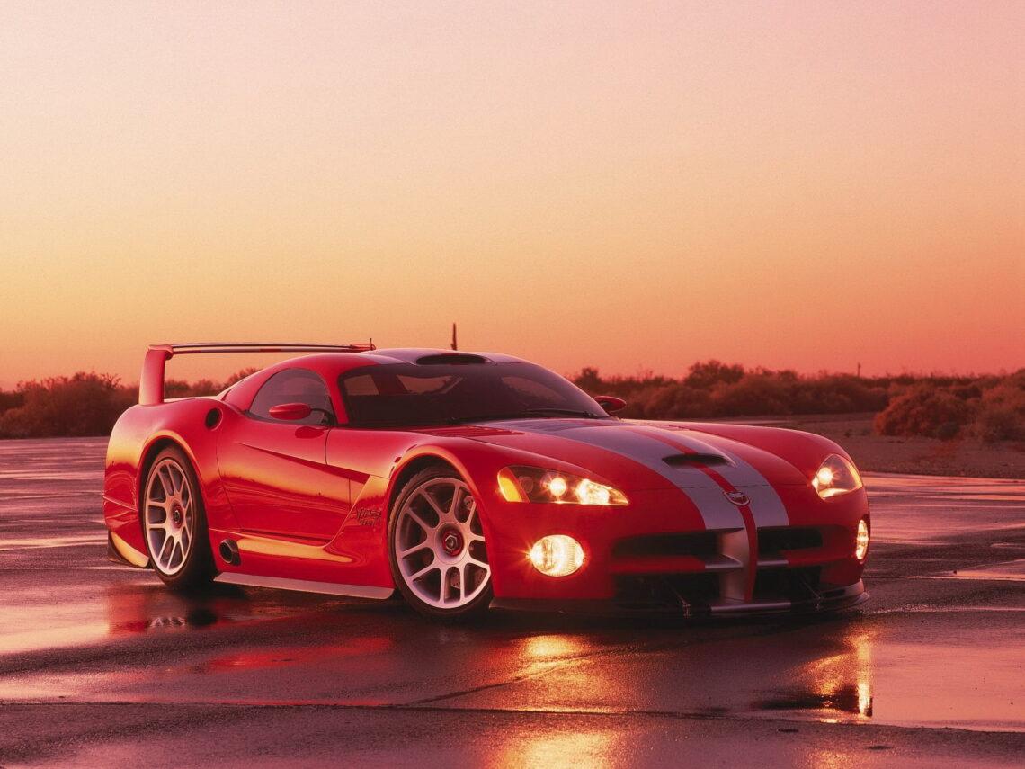 Dodge Viper GTS/R Concept Vehicle. 2000. (CV-0056H)