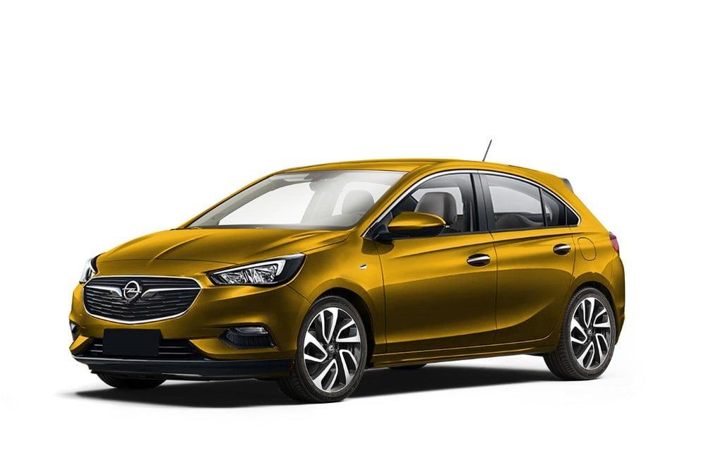 Render Opel Corsa on Modelos De Honda
