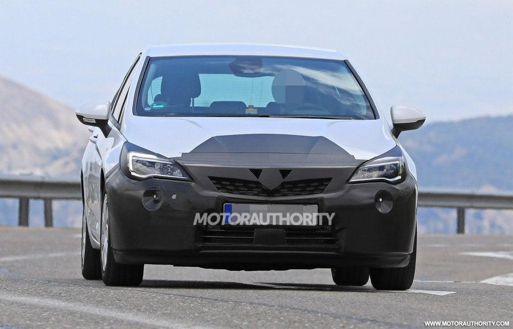 El Opel Astra 2019 recibirá un pequeño lavado de cara