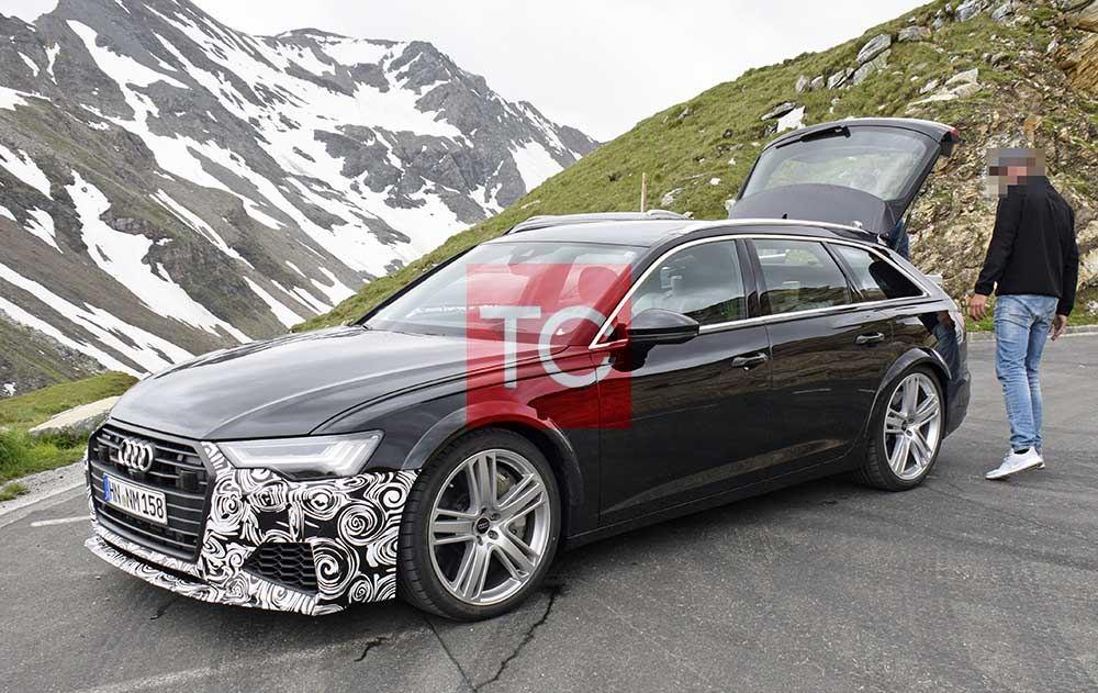 Mazda El Paso >> Cazamos el futuro Audi RS6 Avant 2020: deportividad con la familia