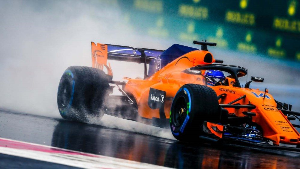 www.sutton-images.com  Fernando Alonso (ESP) McLaren MCL33 at Formula One World Championship, Rd8, French Grand Prix, Qualifying, Paul Ricard, France, Saturday 23 June 2018.