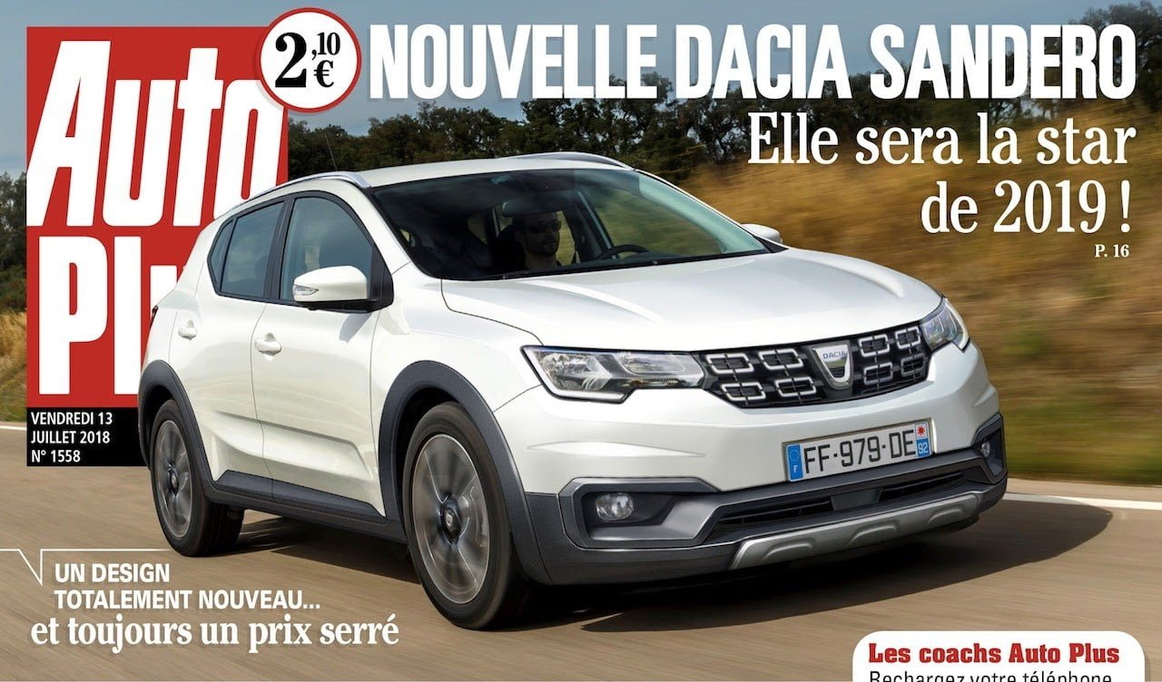 dacia sandero 2019 el low cost de renault se renueva para mejorar. Black Bedroom Furniture Sets. Home Design Ideas