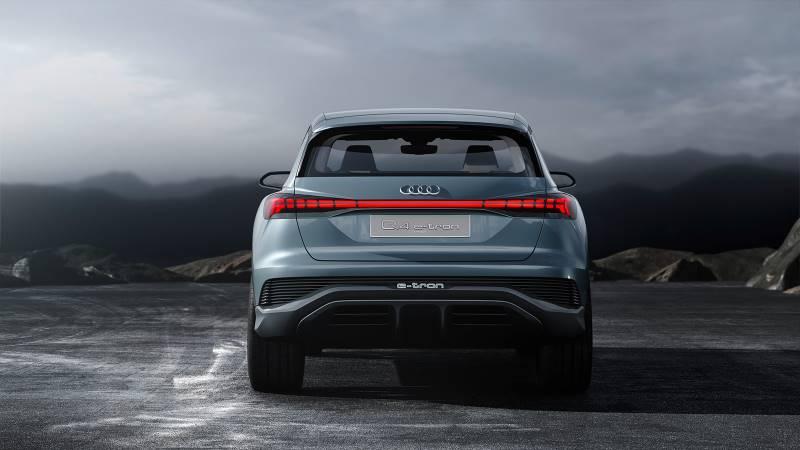 Audi Q4 e-tron Concept: 301 CV y 450 km para el próximo SUV eléctrico