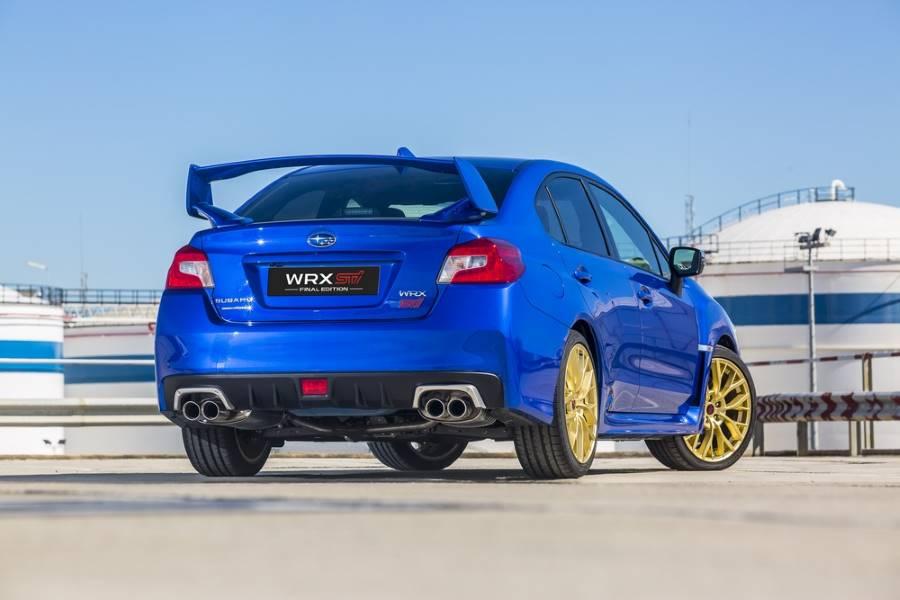 El Subaru WRX STi dice adiós con la Final Edition, 57.500 euros