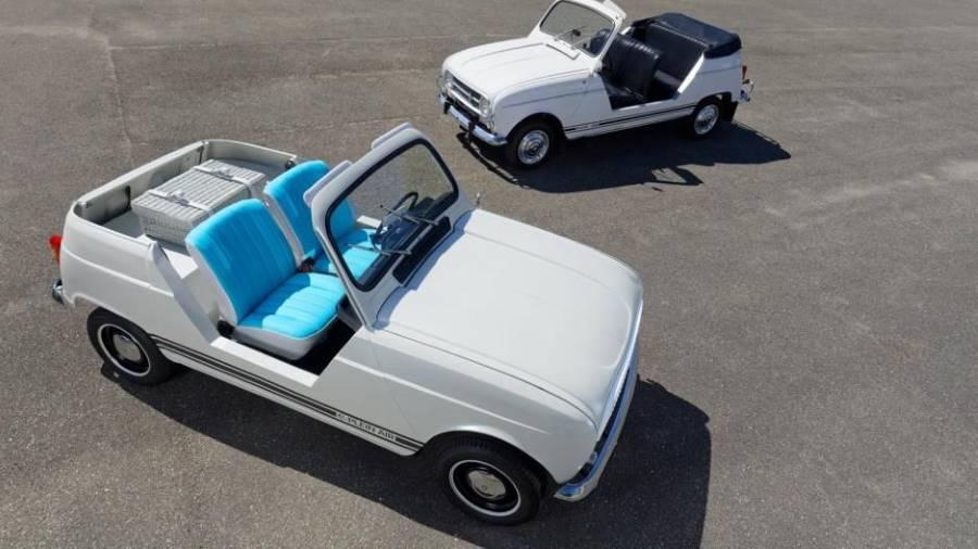 El Renault 4 ha vuelto a la vida, pero… ¡como eléctrico puro!