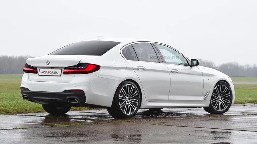 Así será el restyling del BMW Serie 5, si sigue las líneas del nuevo Serie 3